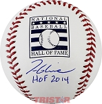 Tom Glavine Autographed Official Hall of Fame Baseball Inscribed HOF 2014