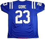 Frank Gore Autographed Indianapolis Colts Custom Jersey