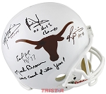 Texas Legends Autographed UT Longhorns Helmet - McCoy, Young & More