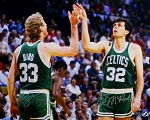 Larry Bird & Kevin McHale Boston Celtics Dual Signed 16x20