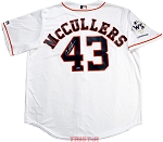 Lance McCullers Jr. Autographed Houston Astros Replica Jersey with WS Champs Patch