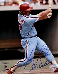 Greg Luzinski Autographed Philadelphia Phillies 8x10 Photo Inscribed The Bull