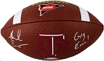 Mike Evans Autographed Texas A&M Football Inscribed Gig Em