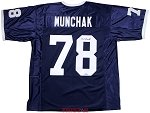 Mike Munchak Autographed Penn State Custom Jersey