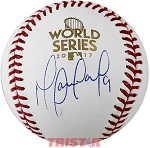 Marwin Gonzalez Autographed 2017 World Series Baseball