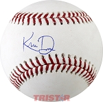 Khris Davis Autographed Official ML Baseball