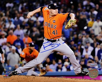 Brad Peacock Autographed Houston Astros 2017 World Series 8x10 Photo