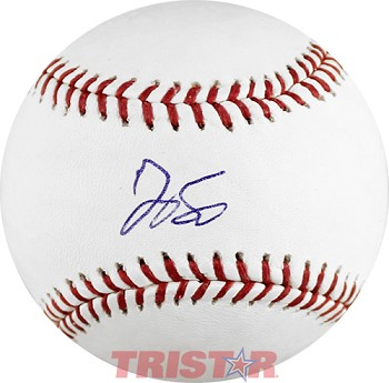 George Springer Autographed Official ML Baseball